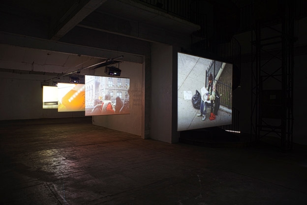 Installation, Transpalette, Bourges, 2012